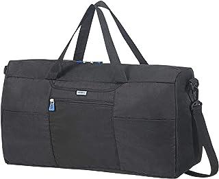 Samsonite Global Travel Accessories Foldable Borsone S, 55 centimeters, Nero (Black)
