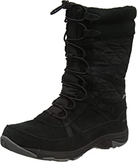 Merrell Damen Approach Tall Leather Waterproof Hohe Stiefel, Schwarz, 42.5 EU