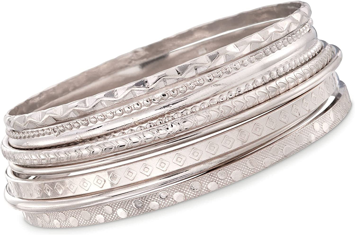 Ranking TOP9 Ross-Simons Italian Sterling Silver Jewelry 7 Set: Text Assorted Classic