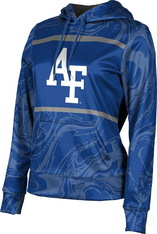 ProSphere U.S. Air Force Academy Girls' Pullover Hoodie, School Spirit Sweatshirt (Ripple)