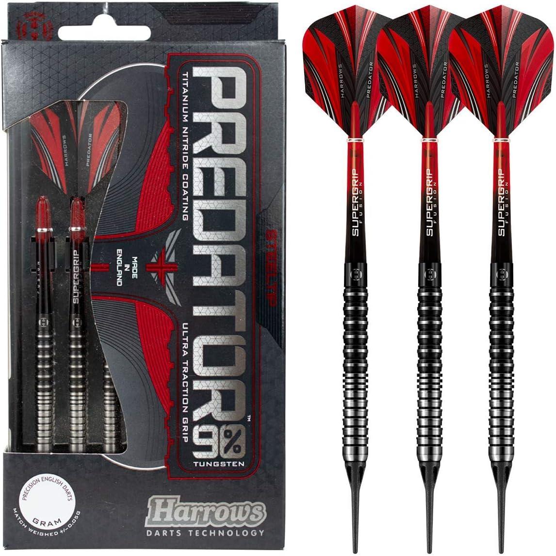 Harrows Predator 90% online Max 75% OFF shopping Tungsten Soft Darts Tip