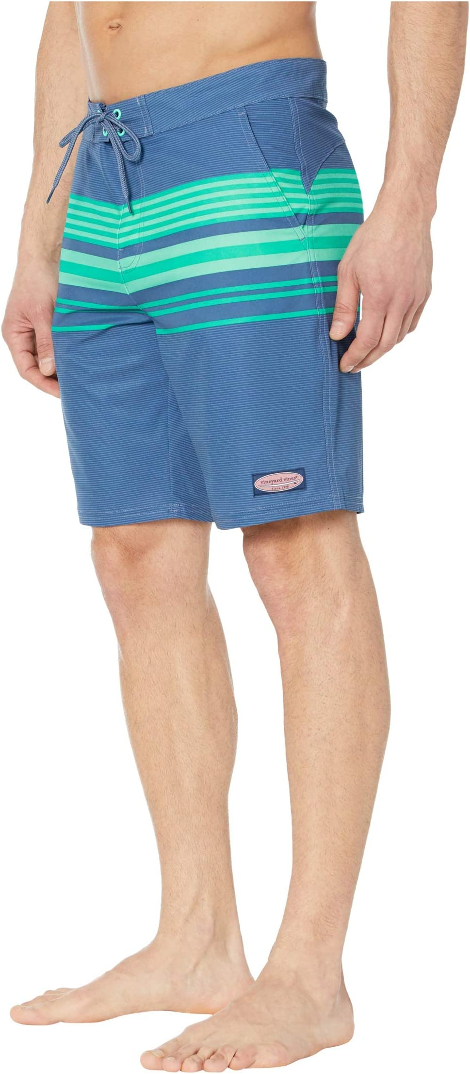Vineyard Vines Striped Boardshorts Lxj46