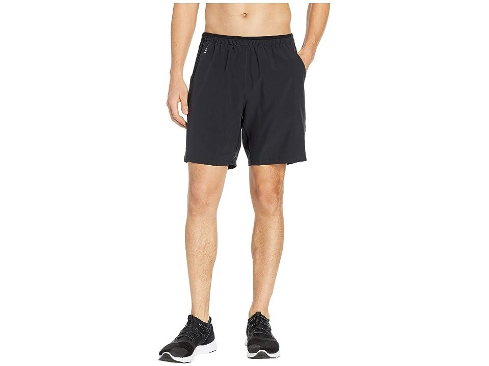 Smartwool Merino Sport Lined 8 Shorts (Black) Men