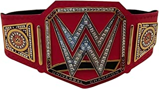 Brand New WWE Universal Champion Belt Adult Replica Genuine Leather Title Belts Zinc Alloy & Brass