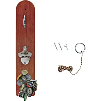 Hammer Crown Hook and Ring Game with Bottle Opener and Magnetic Bottle Cap Catch