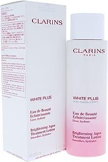 Clarins White Plus Brightening Aqua Treatment Lotion, 6.7 Ounce