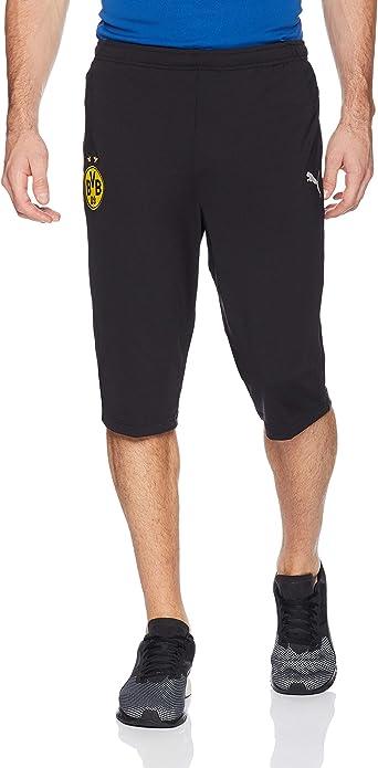 Amazon.com : PUMA Men's BVB 3/4 Training Pants Without Pockets ...