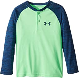 UA Raglan Henley (Little Kids/Big Kids)