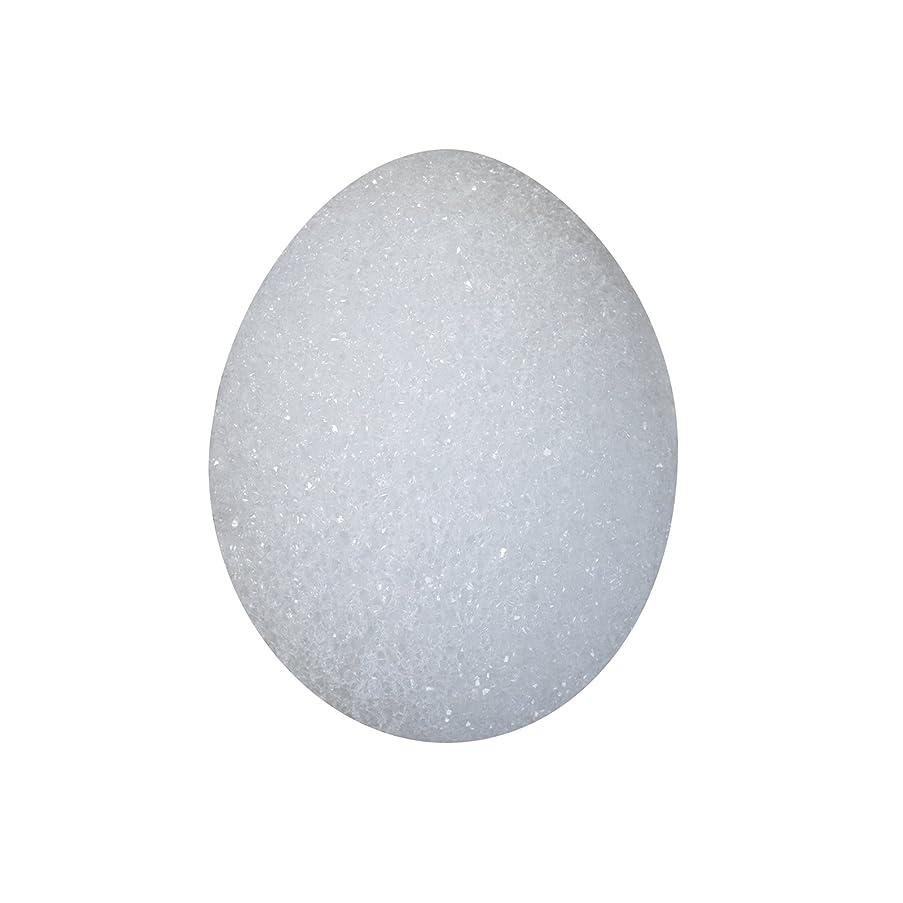 FloraCraft Styrofoam Egg 3.8 Inch x 5.75 Inch White