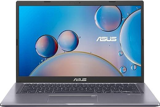 ASUS VivoBook 14 (2020) Intel Core i3-1005G1 10th Gen 14 inches FHD Thin and Light Business Laptop (4GB RAM/1TB HDD/Windows 10/Integrated/Slate Grey/1.6 kg), X415JA-EK104T