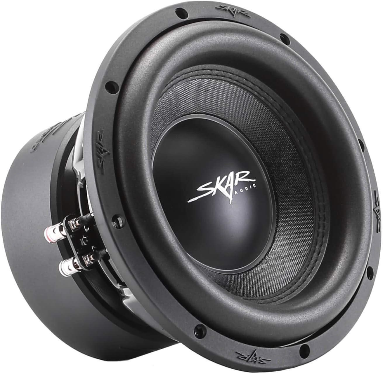 "Skar Audio SVR-10 D4 10"" 1600 Watt Max Power Dual 4 Ohm Car Subwoofer"