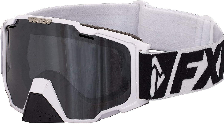 FXR Maverick Snow Goggles White