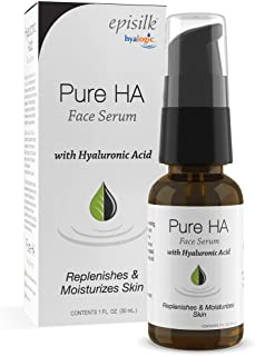 Pure Hyaluronic Acid Serum for Face - Hyalogic Natural HA Face Serum, Non-Greasy, Fragrance-Free Formula - Hyaluronic Acid...