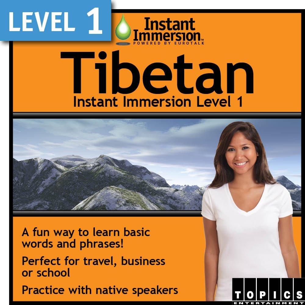 Instant Weekly update Immersion Level In stock 1 Tibetan - Download