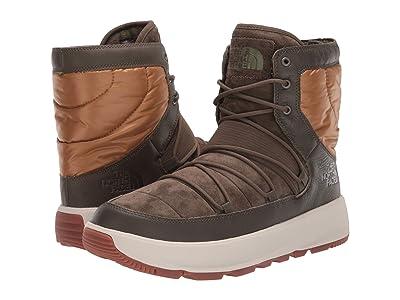 The North Face Ozone Park Winter Boot (Tarmac Green/Cedar Brown) Men