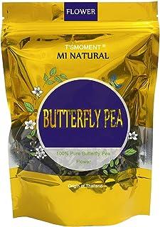 Butterfly Pea Flowers Tea, Premium Dried Flower Blue Tea, All Natural Herbal Tea Clitoria ternatea Thai Butterfly Tea, 50g...