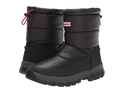 Hunter Original Insulated Snow Boot Short (Black) Men