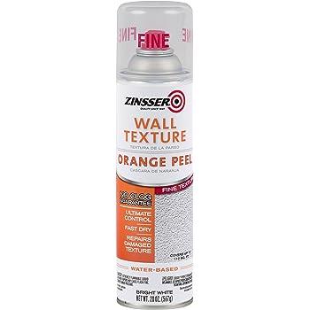 Rust Oleum 202132 Zinsser Wall Texture 20oz Water Based Orange Peel Fine Amazon Com