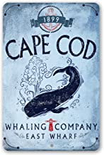 nantucket whaling company sign