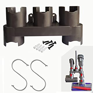 Zirpan Tool Holder for Dyson V7/V8/V10 – Wall Mount Organizer for Cordless Vacuum Accessories – Parts Compatible with Dyson Vacuum Cleaner – Premium Docking Station for Attachments – Cleaner Stand