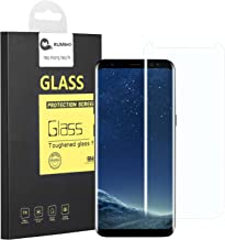 Galaxy S8 Screen Protector[Full Cover],KUMIHO Tempered Glass Screen Protector for S8 0.25mm Screen Protection Case Fit Touch AccuratewithEasy to Install-Clear