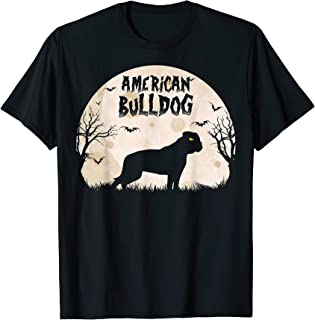 Halloween Horror American Bulldog T-Shirt