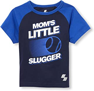 The Children's Place Baby Boys Raglan Matchable Tee