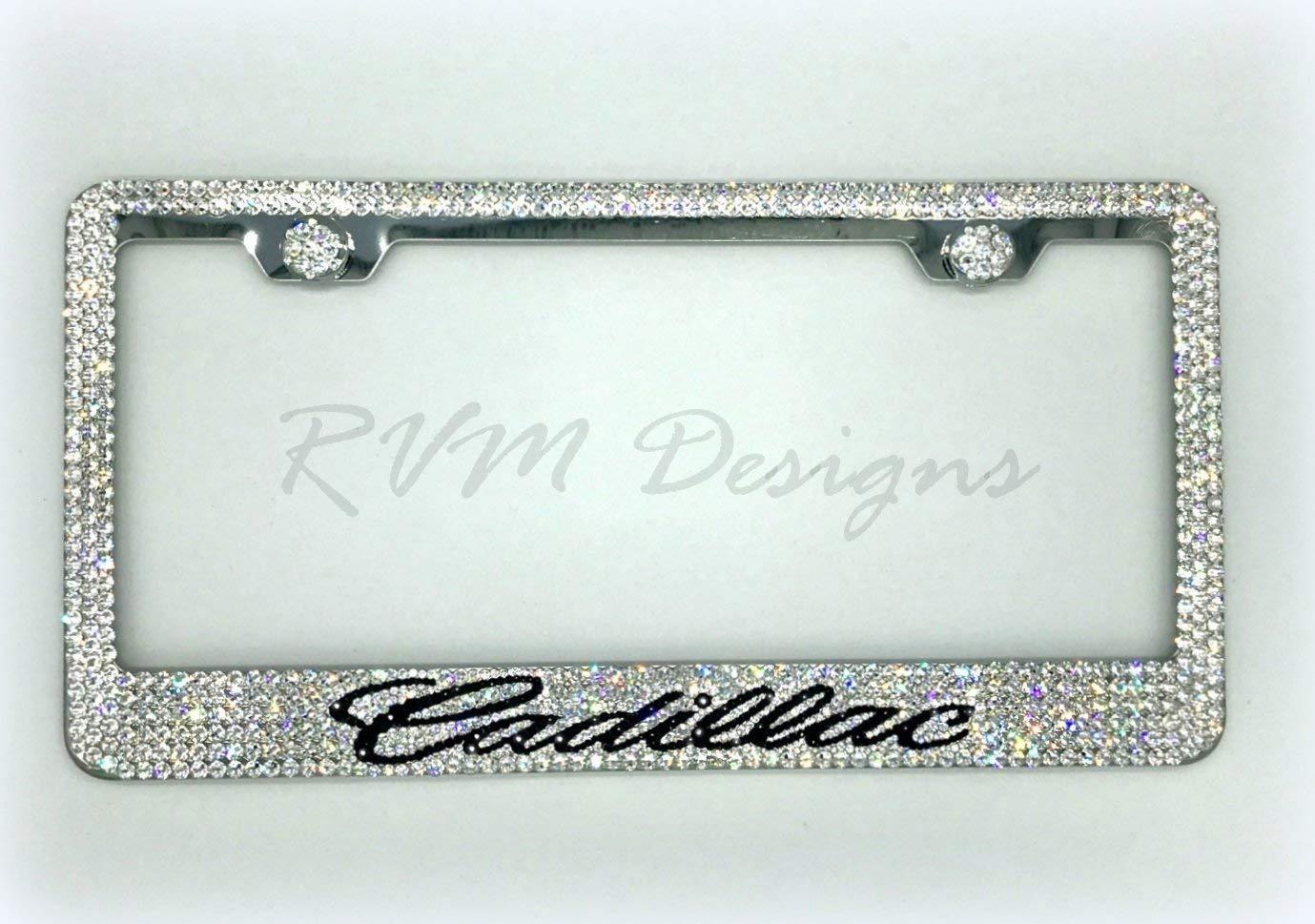 Bling License Plate depot Frame made with Jew - Sale item Car Swarovski Crystals