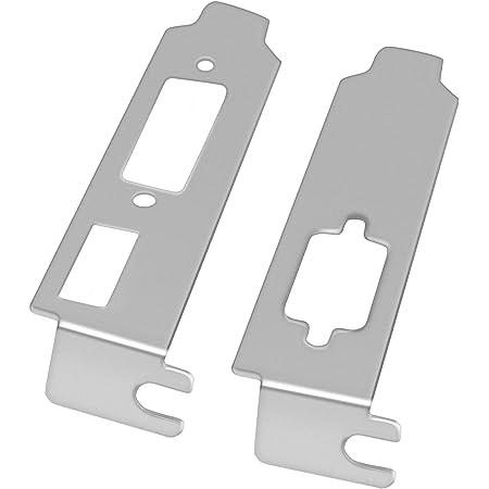 (リームトップ) REAMTOP 高さ1/2 ロープロファイル用ブラケット HDMI/DVI/VGA対応/ATI社・NVIDIA社 ビデオグラフィックスカード用