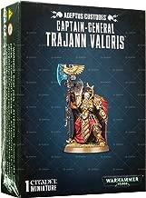 Games Workshop Warhammer 40,000 Adeptus Custodes Captain-General Trajann Valoris Miniature