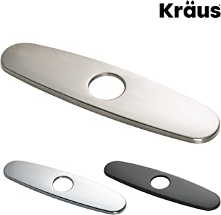 """Kraus Kitchen Faucet 10"""" Deck Plate in Stainless Steel"""