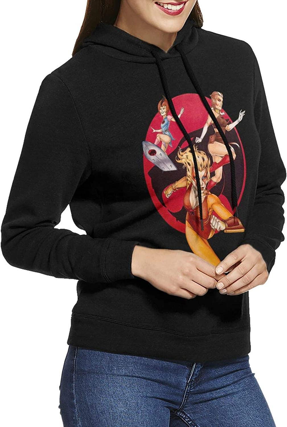 Thundercats Cheetara Hoodie Female Sweatshirts 2021 new Our shop OFFers the best service Cotton Lon Casual