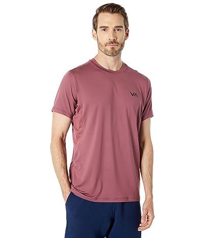 RVCA VA Sport Vent Short Sleeve Top