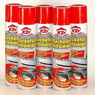 K2r Backofen-Grillreiniger Spray mit Aktiv-Schaum, 5-er Pack 5 x 300 ml