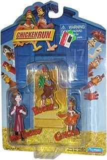 Rocky, Ginger, Mrs. Tweedy Mini-Action Figure Set - Chicken Run Movie Collectible Series