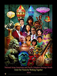 2018 Asian Americans and Pacific Islanders Heritage (AAPI) Month Poster (AP18)