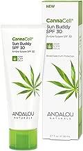 Andalou Naturals CannaCell Sun Buddy Facial SPF 30, 2.7 Ounces