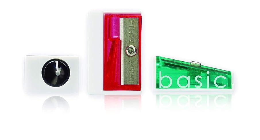 Milan 20115250 Exhibitor Basic Pencil Sharpener (Pack of 50)
