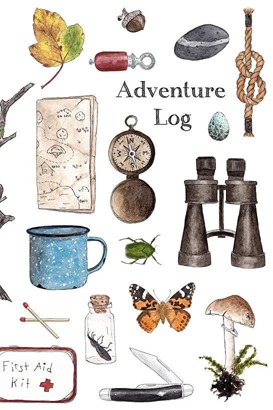 Adventure Log: A Kid's Adventure Log - Travel Journal