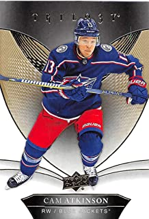 2018-19 Upper Deck Trilogy Hockey #14 Cam Atkinson Columbus Blue Jackets Official Trading Card From UD