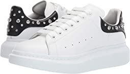 big sale bd5c1 3a188 Alexander mcqueen leather perforated nubuck sneaker   Shipped Free ...