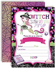 a witch's invitation