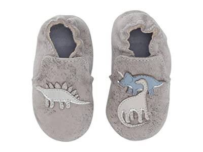 Robeez Ramsey Soft Sole (Infant/Toddler) (Grey) Boy