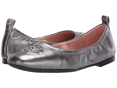 Taryn Rose Rosalie (Gunmetal Metallic Nappa) Women