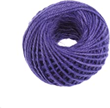 Healifty Jute touw jute string gekleurde natuurlijke touw touw touw touw touw roll cadeau verpakking voor DIY ambachten ca...