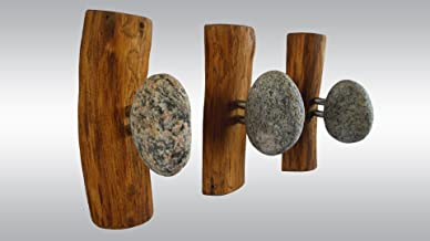 Stone hooks, coat hooks, Stone towel hook, rock towel hook, towel hooks, coat rack, rock towel holder, towel hook, wall mounted coat rack