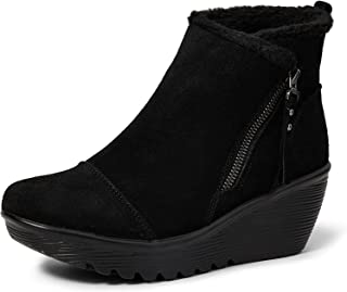 Skechers PARALLEL - Zip up wedge casual comfort ankle boot womens Fashion Boot