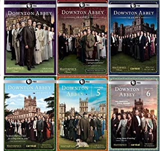 Masterpiece Classic: Downton Abbey Seasons 1-6 Complete Series Collection (Original U.K. Edition)