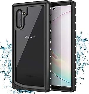 MoKo - Carcasa Impermeable para Samsung Galaxy Note 10 de 6,3 Pulgadas y 2019 (Compatible con Galaxy Note 10, Incluye Prot...