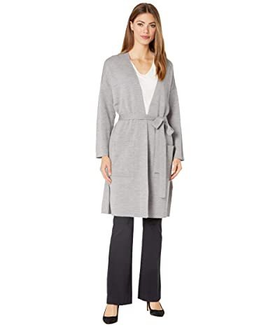 Eileen Fisher Bracelet Sleeve Cardigan (Moon) Women